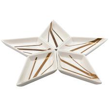 5 Piece Bliss Star Serving Dish Set