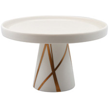 Bliss Porcelain 20cm Footed Cake Stand