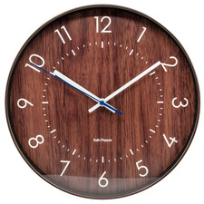 30.5cm Bailey Metal Wall Clock