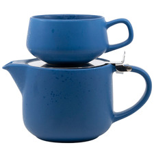 Blue Anders 900ml New Bone China Tea for One