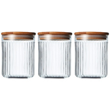 Brew Glass Canisters (Set of 3)