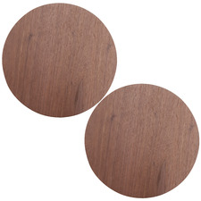 Walnut Round Willow Placemats (Set of 2)