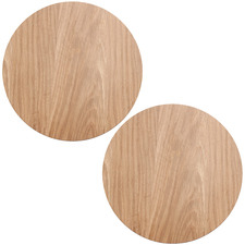 Natural Round Willow Placemats (Set of 2)