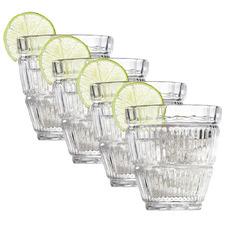 Bond Hampstead 250ml Glass Tumblers (Set of 4)