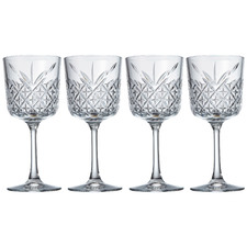 Winston European Wine Glasses (Set of 4)