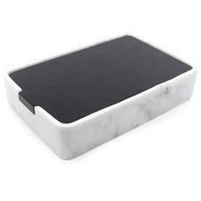 Marble-Look Valet Jewellery Box