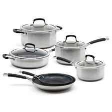 Salt & Pepper 6 Piece Aust-Enite Cookware Set
