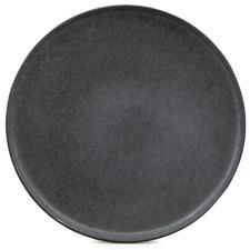 Salt & Pepper Black Hue 20cm Stoneware Side Plates (Set of 6)