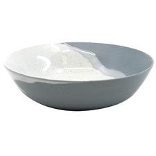 Salt & Pepper White & Blue Roam 20cm Bowls (Set of 6)
