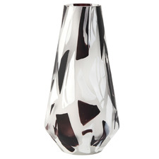 Salt & Pepper Multi-Coloured Long Gallery Glass Vase