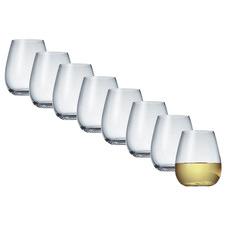 Salt & Pepper Vino Vino 470ml Stemless Wine Glasses (Set of 8)