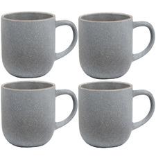 Salt & Pepper Sky Hana 380ml Stoneware Mugs (Set of 4)