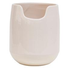 Salt & Pepper Pink Beacon Stoneware Utensil Holder