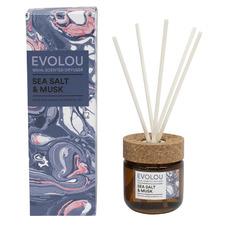 150ml Sea Salt & Musk Evolou Reed Diffuser