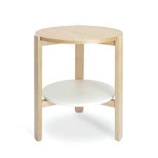 Hub Side Table White
