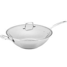 32cm Impact Covered Wok Chef's Pan