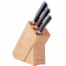 4 Piece Classic Knife & Block Set