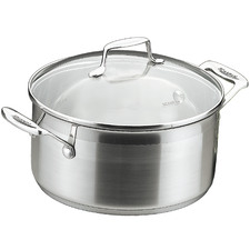 Scanpan Impact 3L Stainless Steel Dutch Oven