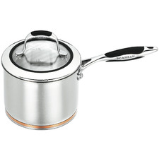 Coppernox 16cm/1.8L Stainless Steel Saucepan with Lid