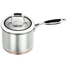 Coppernox 18cm/2.5L Stainless Steel Saucepan with Lid