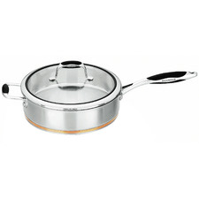 Coppernox 28cm Stainless Steel Sauté Pan