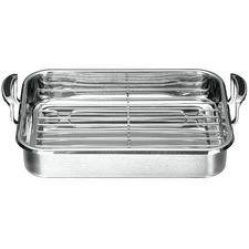 Coppernox Stainless Steel Roaster with Rack