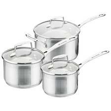 3 Piece Scanpan Impact Saucepan Set