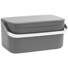 Grey Brabantia Sinkside Food Waste Caddy