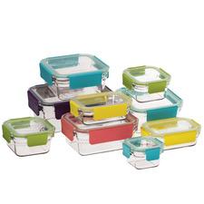 Glasslock 9 Piece Premium Oven Safe Set