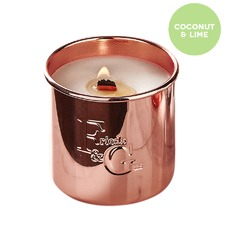 Coconut Lime Rose Gold Candle