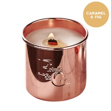 Caramel Fig Rose Gold Candle