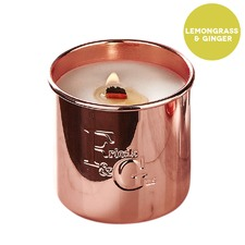 Lemongrass & Ginger Rose Gold Candle