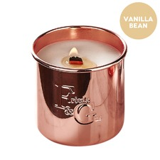Vanilla Bean Rose Gold Candle