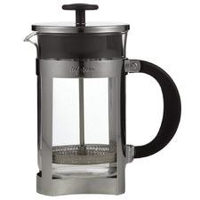 Black Berlin Glass Coffee Plunger