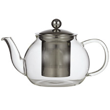 Camellia Glass Teapot with Filter