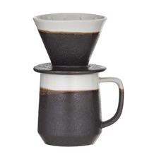 2 Piece Roma Pour Over Coffee Maker Set