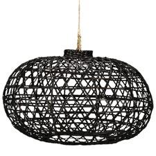 Short Bamboo Lamp Shade