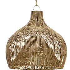 Oversized Dari Rattan Pendant Light
