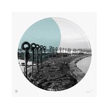 Ocean Baths Circle Print