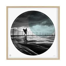 Bronte Pool Circle Print