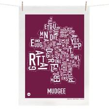 Mudgee Tea Towel