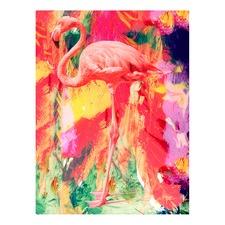 Be a Flamingo Canvas Wall Art