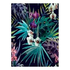 Botanical Panama Canvas Wall Art