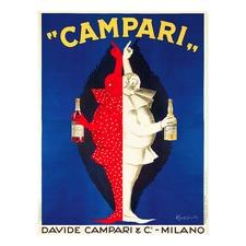 Campari Brothers Vintage Canvas Wall Art