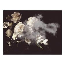 Flower Cloud Canvas Wall Art