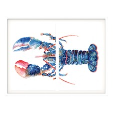 Mr Lobster Framed Wall Art