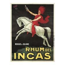 Rhum Des Incas Vintage Canvas Wall Art