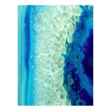 Vivienne East Blue Monday Left Canvas Wall Art