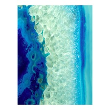 Vivienne East Blue Monday Right Canvas Wall Art