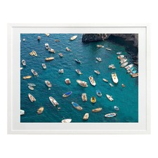 Out On The Bay Printed Wall Art